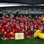 東福岡高校サッカー部 全国優勝!