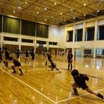 九州高校女子バレー部 トレーナー活動