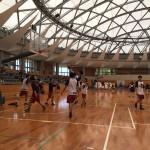 夏クラブバスケットボール選手権大会 トレーナーサポート