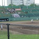 全国高校野球選手権 福岡大会 2回戦 トレーナーサポート