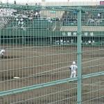 全国高校野球選手権 福岡大会 1回戦 トレーナーサポート
