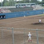 福岡地区高等学校新人野球大会 1回戦 トレーナーサポート