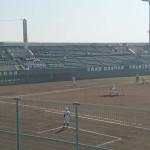 第142回 九州地区高等学校野球 福岡大会 4回戦トレーナーサポート