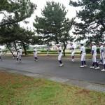第5回福岡地区高等学校野球大会(市長杯)準決勝トレーナーサポート