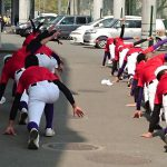 第144回 九州地区高等学校野球 福岡大会4回戦 トレーナーサポート