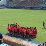 高校サッカー インターハイ福岡県予選 決勝観戦!