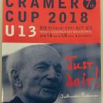 デットマール・クラマーカップ  Uー13 2018