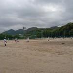 第5回福岡地区高等学校野球大会(市長杯)2回戦トレーナーサポート