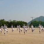 第5回福岡地区高等学校野球大会(市長杯)3回戦トレーナーサポート