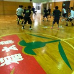 福太郎めんべいバスケットボール トレーニング指導