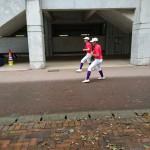 第100回全国高等学校野球選手権記念 南福岡大会 2回戦トレーナーサポート