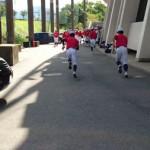 第143回 九州地区高等学校野球 福岡大会4回戦 トレーナーサポート