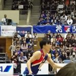 ライジンングゼファー福岡VS川崎ブレイブサンダース