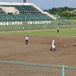 第101回全国高等学校野球選手権 福岡大会 3回戦トレーナーサポート