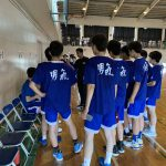 高校バスケ ウィンターカップ予選 トレーナー帯同