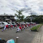 第145回九州地区高等学校野球 福岡大会パート決勝戦 トレーナーサポート