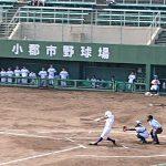 第6回 福岡地区1年生高等学校野球大会 トレーナーサポート